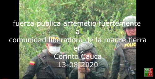 Ejercitos del gobierno asesinan a liberador y comunicador indígena | Nasa Corinto TV