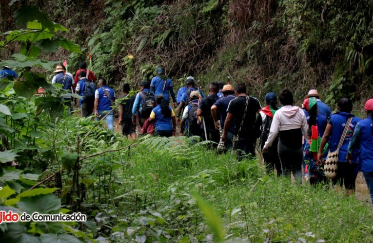 Minga de Recorrido Territorial – Çxhab Wala Kiwe 2020