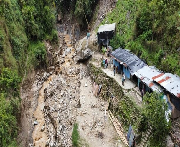 S.O.S Emergencia causada por desastre natural
