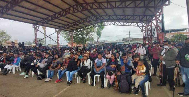 Audiencia pública por asesinato de gobernadora Sandra Peña Chocué