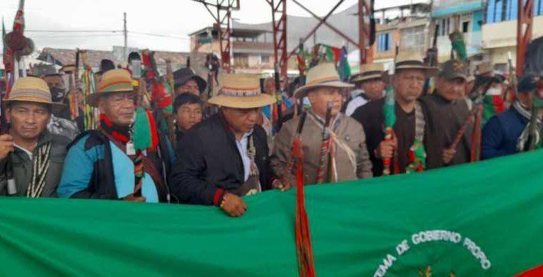 CRIC en Caldono, Cauca – Declara: La minga nacional llegó la hora cero del movimiento indígena