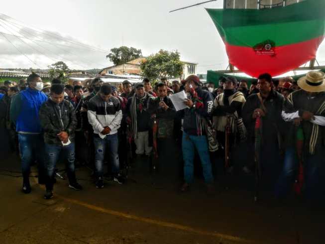 Condenados a 60 años de cárcel los asesinos de la gobernadora indígena Sandra Liliana Peña Chocué.