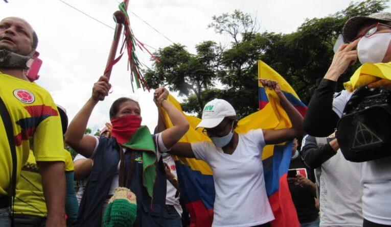La minga nacional y la resistencia Caleña – UNIDOS SOMOS MÁS