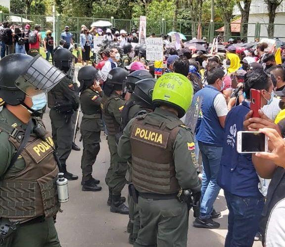 Boletin DDHH CRIC: uso excesivo uso de la fuerza pública en contra los manifestantes y estigmatización al CRIC Nacional
