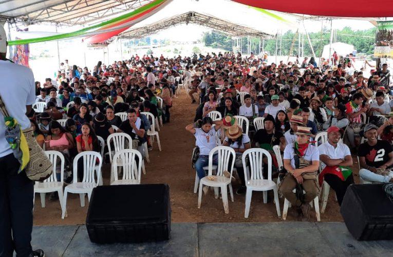 La semilla de resistencia y lucha se fortalece desde los jóvenes indígenas en el Cauca