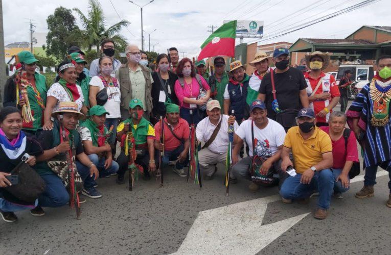 Comunicado de prensa organizaciones sociales e indígenas en el Cauca en el marco de la movilización nacional