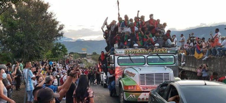 Los pueblos indígenas del CRIC – nacional seguimos en lucha y resistencia mientras no se apague el sol