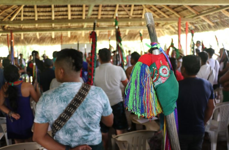 Junta directiva del CRIC, se realizó en el resguardo Calle Santa Rosa, Municipio de Timbiquí Cauca.