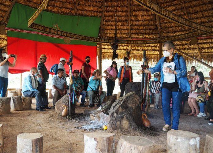 Misión Internacional Catalana visita Cxhab Wala Kiwe